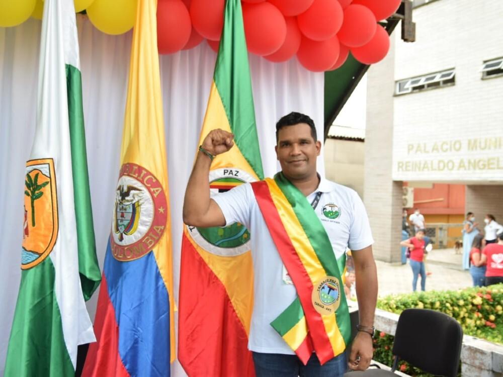 Alcalde de Tarazá, Antioquia