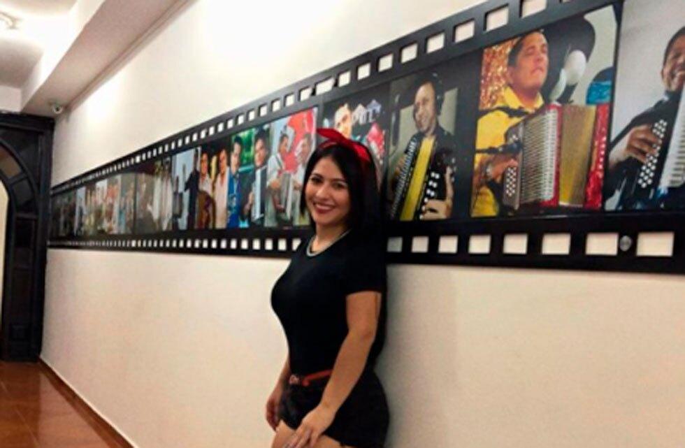 Cantante vallenata Daniela Sierra