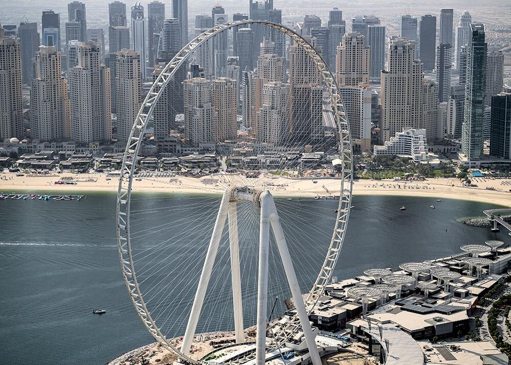 372877_Panorámica de Dubai // Foto: AFP