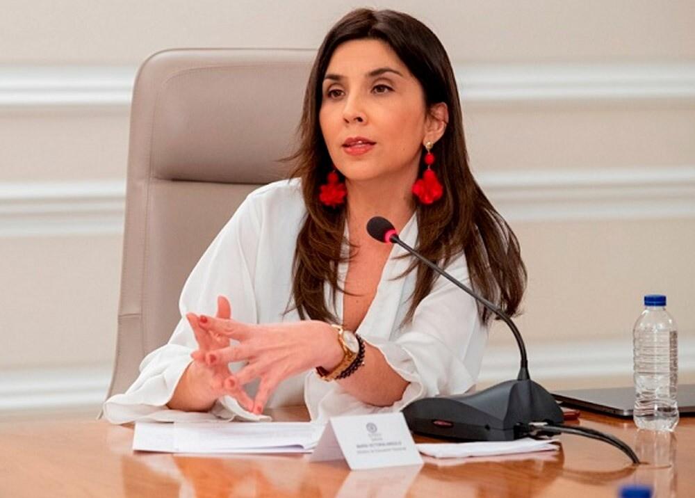 364478_María Victoria Angulo, ministra de Educación // Foto: Presidencia