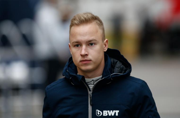 Nikita Mazepin, automovilista ruso.