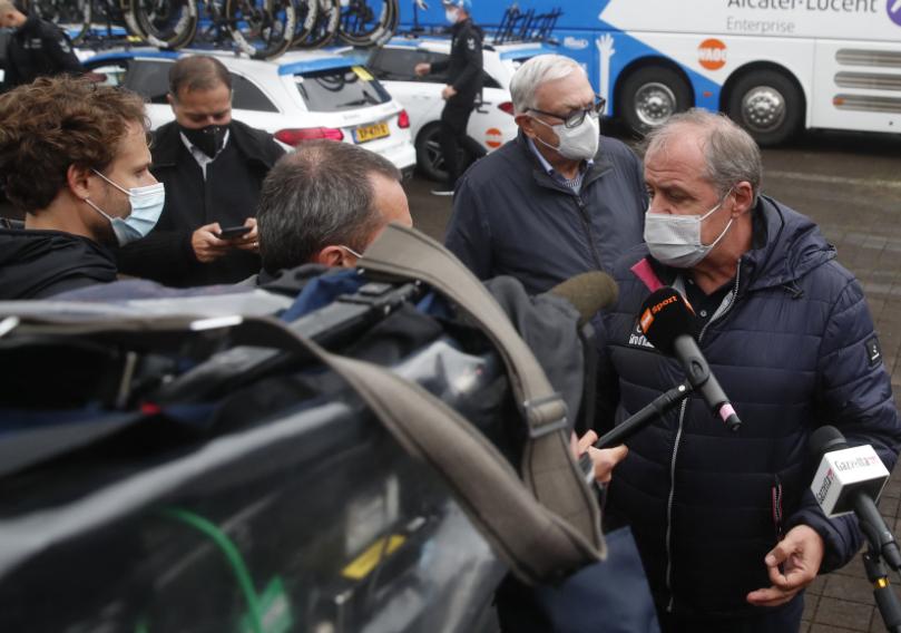 Mauro Vegni es el director del Giro de Italia.