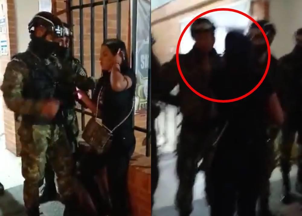 Agresión a soldado por parte de una civil en el Cantón Norte.jpeg