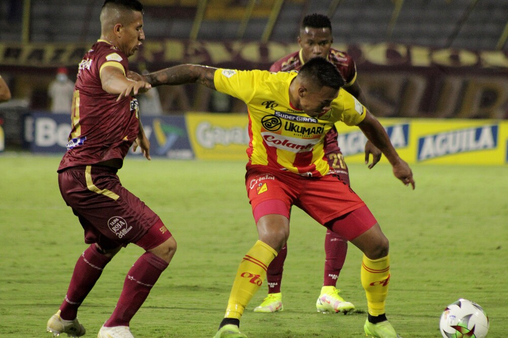 Deportes Tolima recibió al Deportivo Pereira, en Copa Colombia