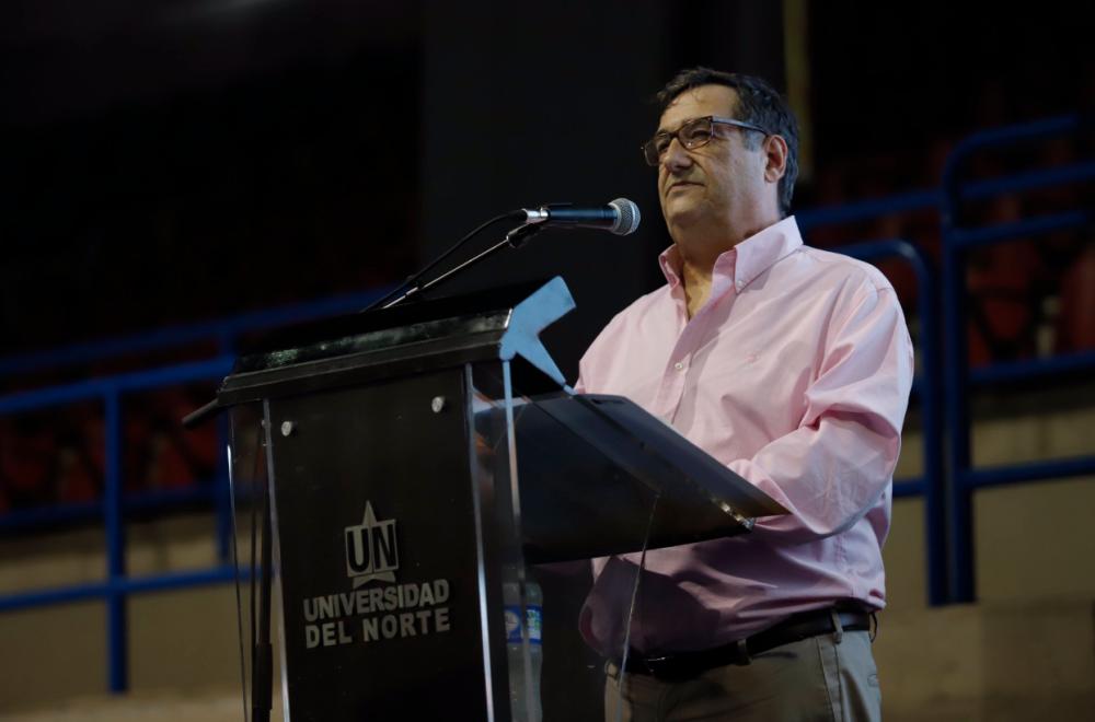 357994_BLU Radio // Adolfo Meisel Roca, rector Universidad del Norte // Foto: Universidad del Norte