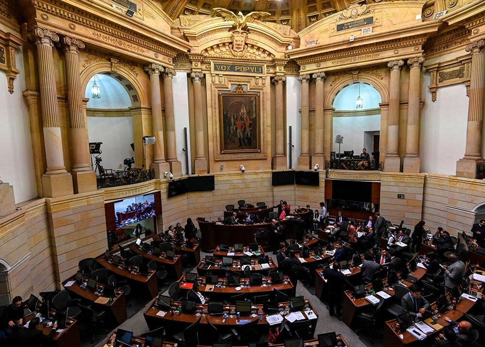322723_BLU Radio // Congreso de la República // Foto: AFP