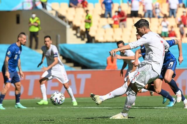 Álvaro Morata, en la Eurocopa