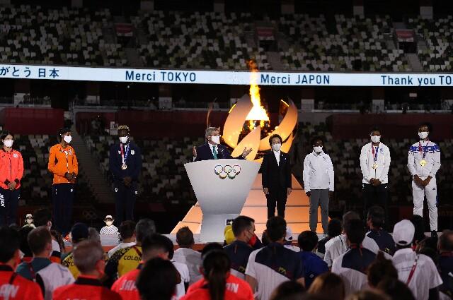Thomas Bach, en Juegos Olímpicos de Tokio 2020