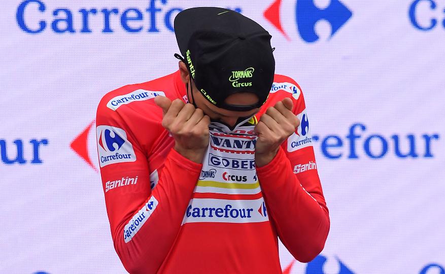 Rein Taaramae es nuevo líder de la Vuelta a España 2021.