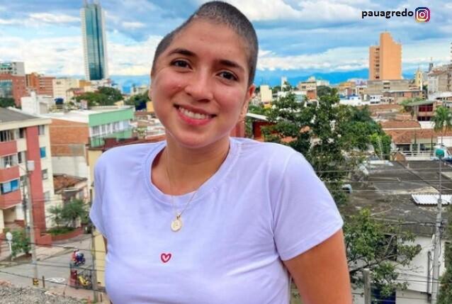 Paula Agredo se sometió a reconstrucción de cráneo
