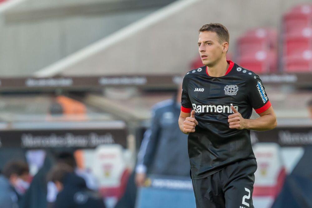Santiago Arias, jugador de Bayer Leverkusen