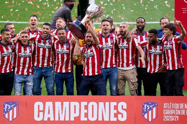 Atlético de Madrid, campeón de La Liga 2020/21