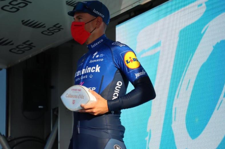 Davide Ballerini, ganador de la etapa 1 del Tour de Provence