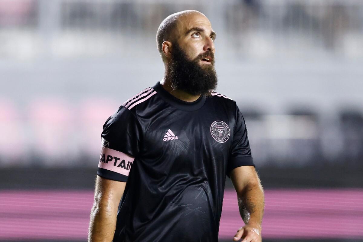 Gonzalo Higuaín encontró su lugar en el mundo?: fue elegido como el jugador de la semana en la MLS