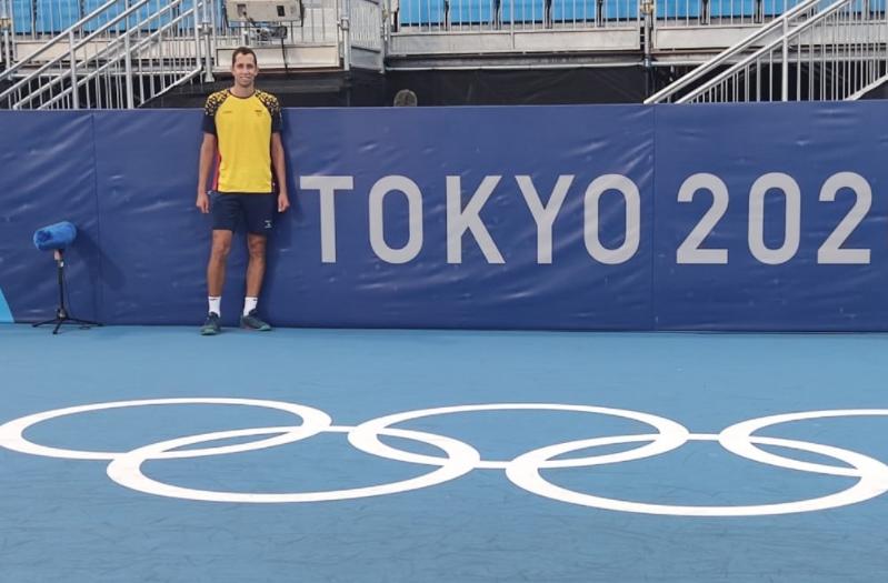 Daniel Galán se medirá a Alexander Zverev en segunda ronda de los Juegos Olímpicos.