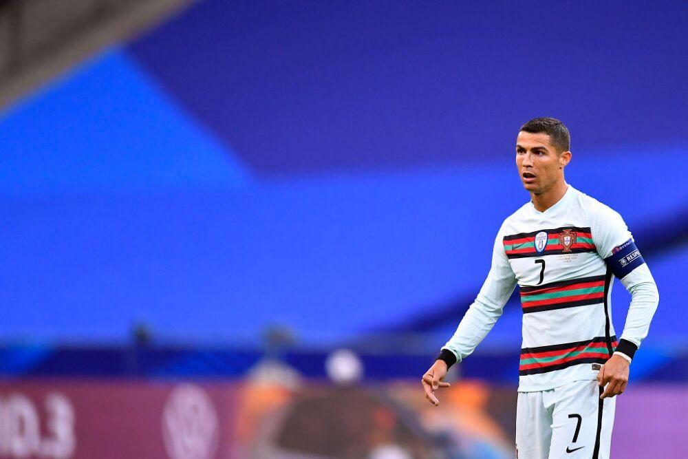 Cristiano Ronaldo, jugador de la Selección de Portugal