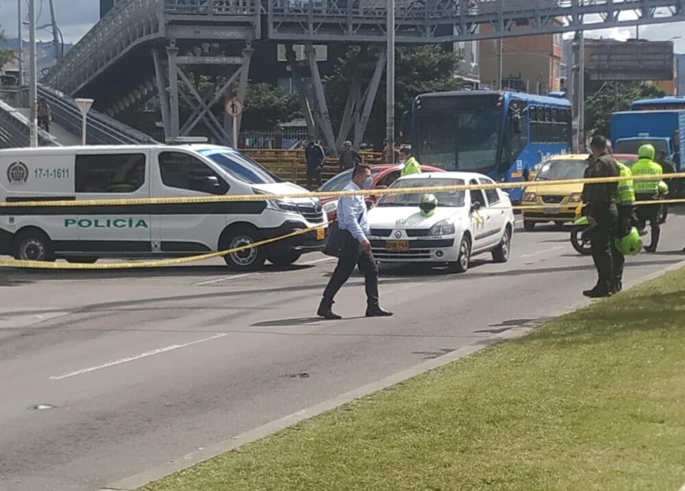 Hombre disparó a quienes pretendían robarlo en Bogotá Foto suministrada.jpg