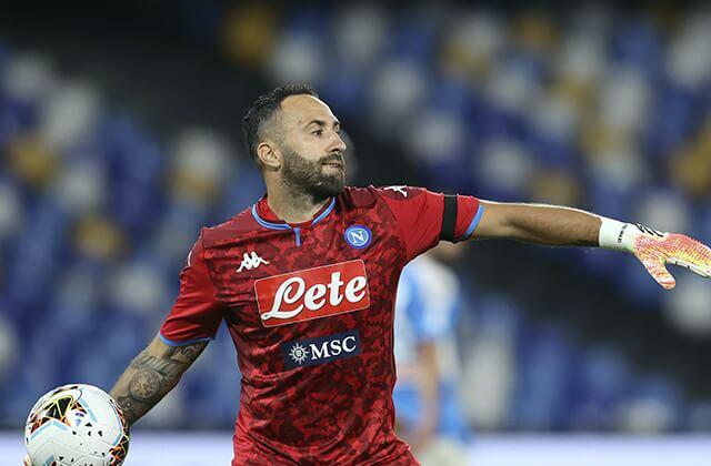 339073_David Ospina, figura del Nápoles en las semifinales de Copa de Italia