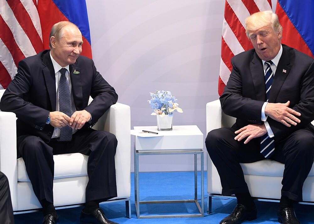 287268_BLU Radio. Reunión entre Trump y Putin - Foto: AFP