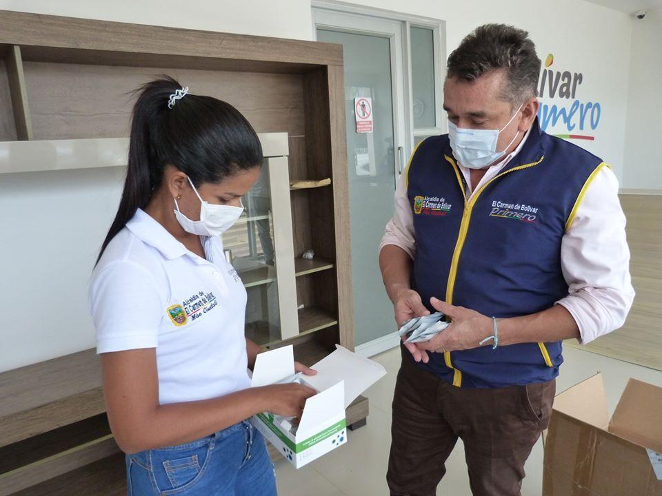 369875_Entra de pruebas rápidas a municipios de Bolívar // Foto: Suministrada
