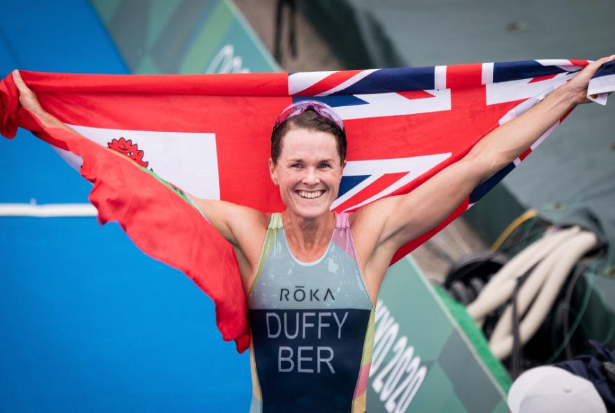Flora Duffy logró el primer oro de Bermudas en la historia de los Juegos Olímpicos.