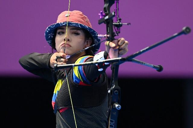Valentina Acosta, en los Juegos Olímpicos de Tokio