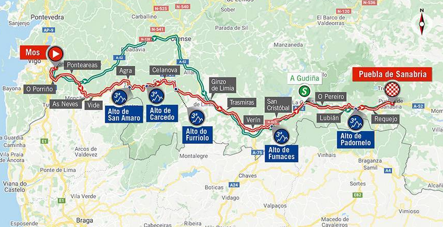 Así será la etapa 15 de la Vuelta a España 2020.