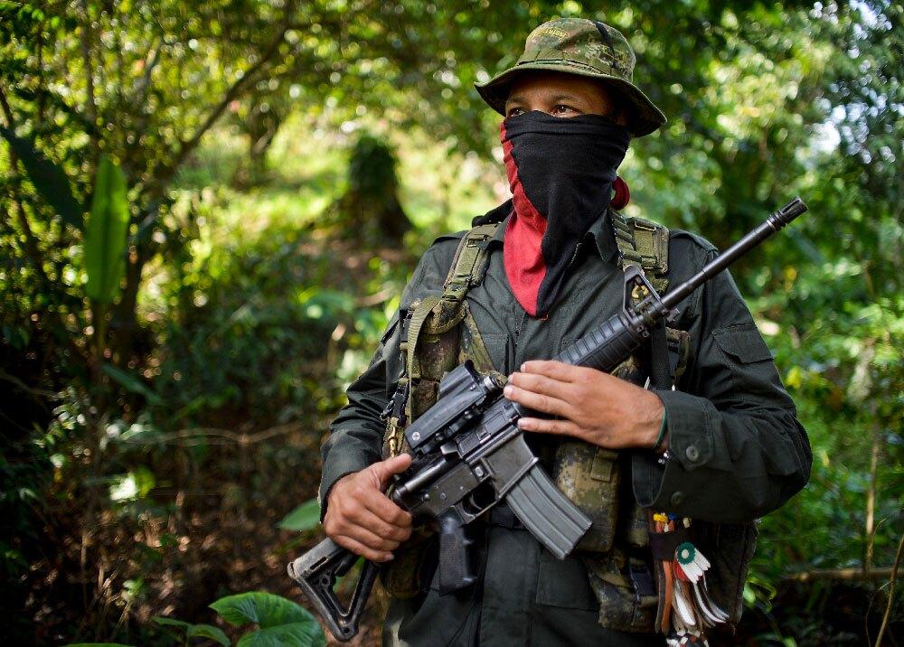 293950_BLU Radio. Guerrillero ELN // Foto: AFP