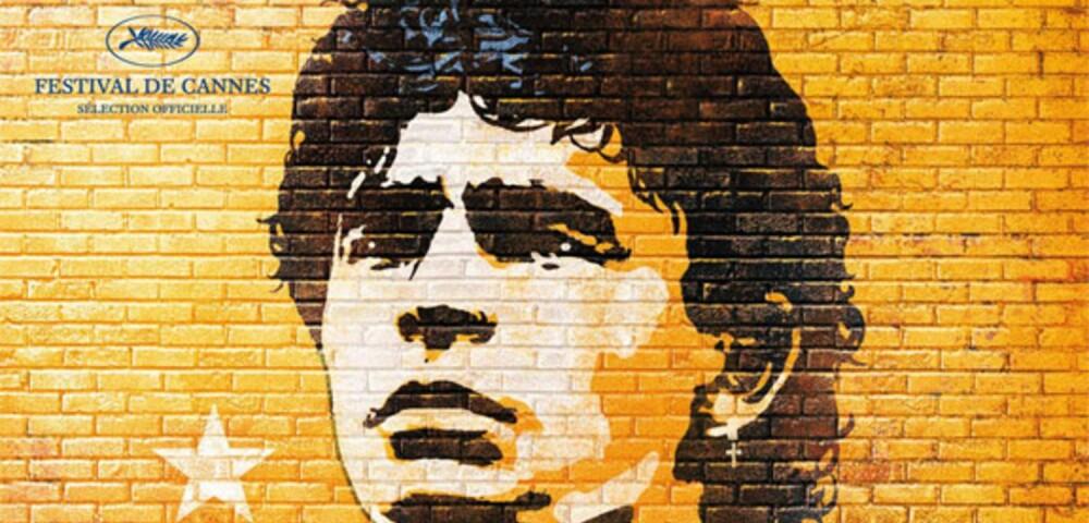 648917_Maradona por Kusturica - Afiche