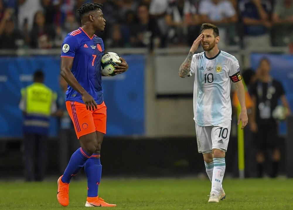 336508_BLU Radio. Para las redes Messi casi no estuvo en el partido // Foto: AFP