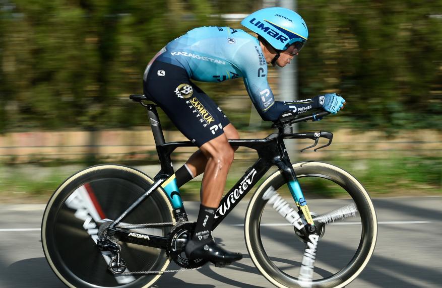 Harold Tejada ocupa el puesto 25 de la general de la Vuelta a Cataluña.