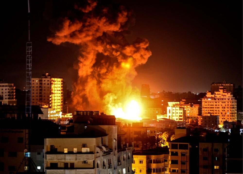 Bombardeos en Gaza Foto AFP.jpg