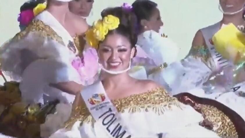 Neiva eligió a Karoll Caballero como nueva reina nacional del bambuco