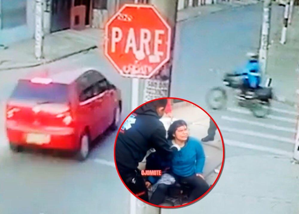 Impactante accidente de tránsito en el sur de Bogotá