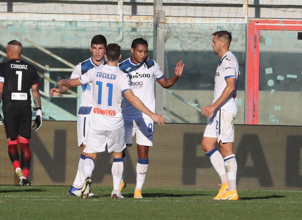 Luis Fernando Muriel gol Atalanta vs Crotone