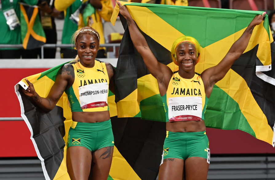 Jamaica ha ganado casi todas sus medallas en Juegos Olímpicos en atletismo.