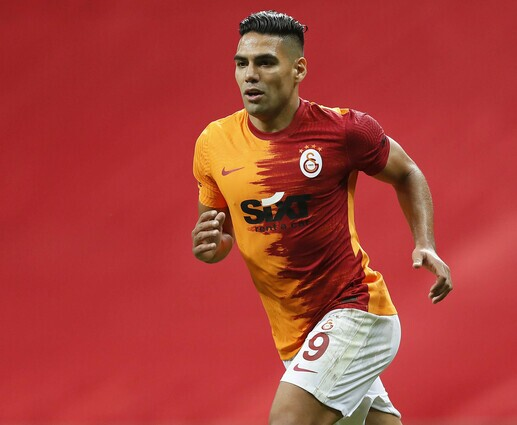 Falcao Galatasaray vs Fenerbache
