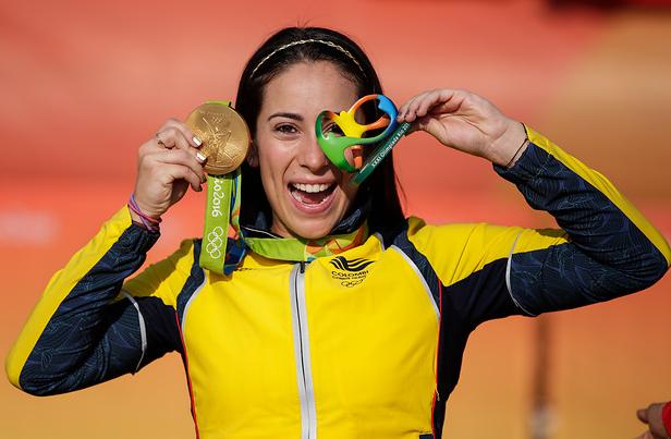 Mariana Pajón representará a Colombia en los Juegos Olímpicos de Tokio 2020.