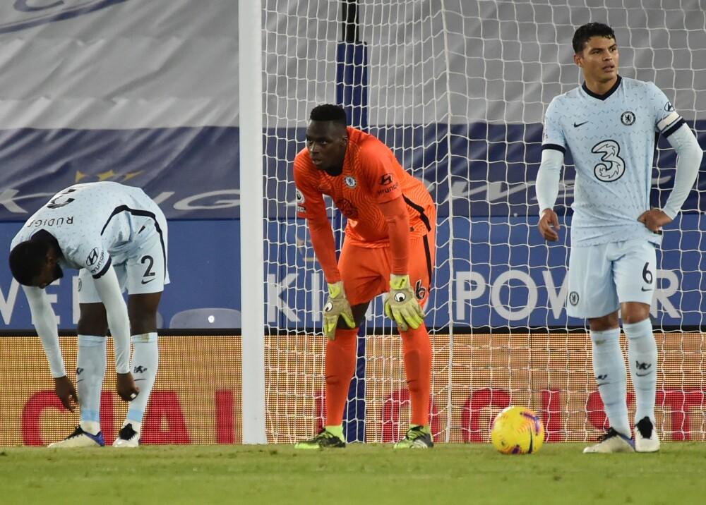 Chelsea perdió 2-0 frente a Leicester en la Premier AFP.jpg