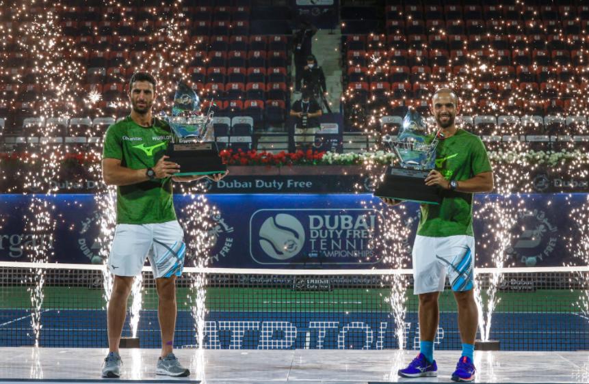 Juan Sebastián Cabal y Robert Farah se quedaron con el título del ATP 500 de Dubái.