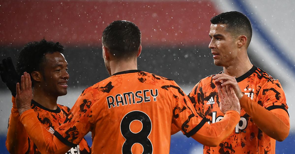 Vea el gol de Aaron Ramsey hoy, Sampdoria vs Juventus, por la Serie A