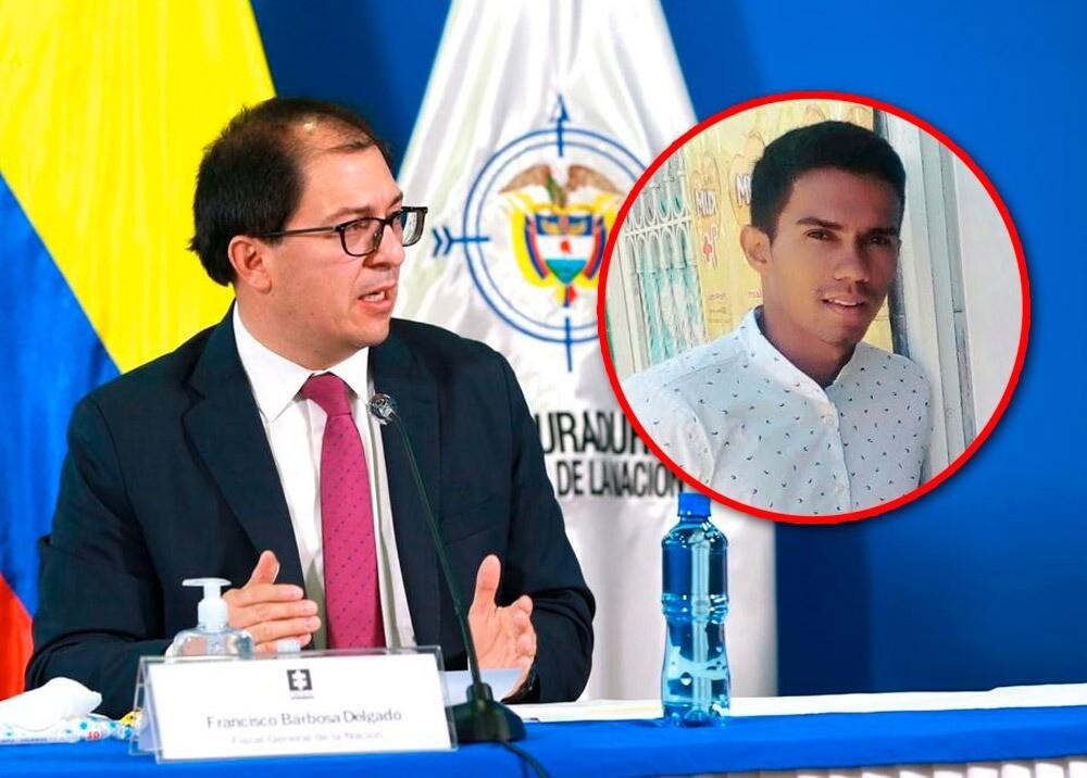 370197_Fiscal Francisco Barbosa - Esneider Mateus // Fotos: Fiscalía - suministrada
