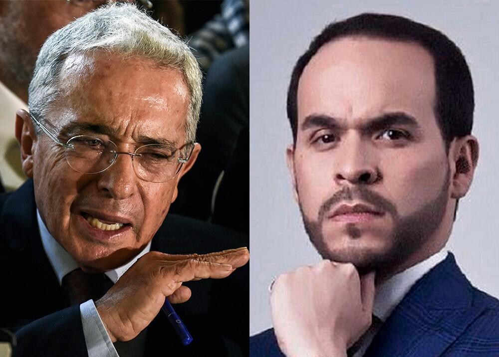 370303_Álvaro Uribe y Abelardo de la Epriella // Foto: AFP, De La Espriella Lawyers Enterprise