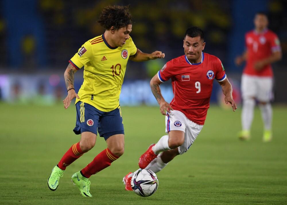 Juan Fernando Quintero contra Chile Foto AFP.jpg