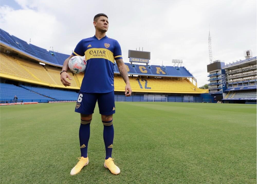 Marcos Rojo Foto Boca Juniors