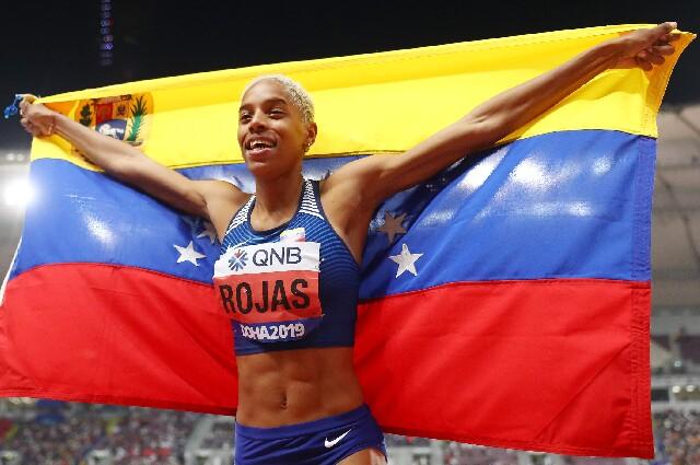 Yulimar Rojas, en los Juegos Olímpicos