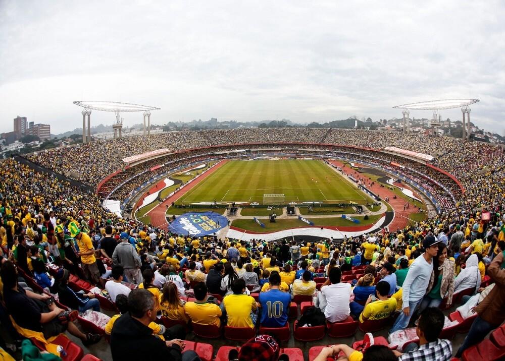 335899_BLU Radio // Estadio Morumbí - sede de partidos de la Copa América // Foto: AFP