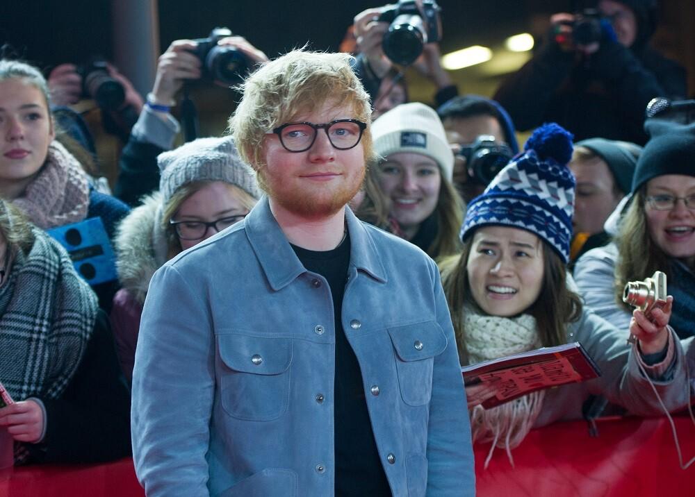 304375_BLU Radio. Ed Sheeran / Foto: AFP.