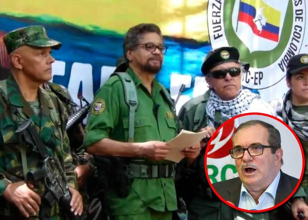 342226_BLU Radio // Rodrigo Londoño - anuncio de rearme // Foto: video Youtube - AFP