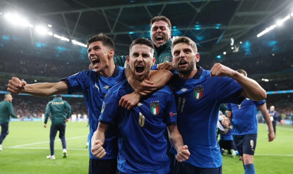 Selección Italia Eurocopa aFP.